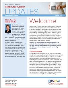 Fetal Care Center | Inova Children's Hospital | Northern VA
